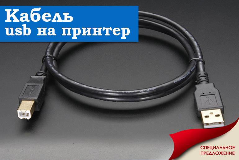кабель USB на принтер в магазине Skynet Group