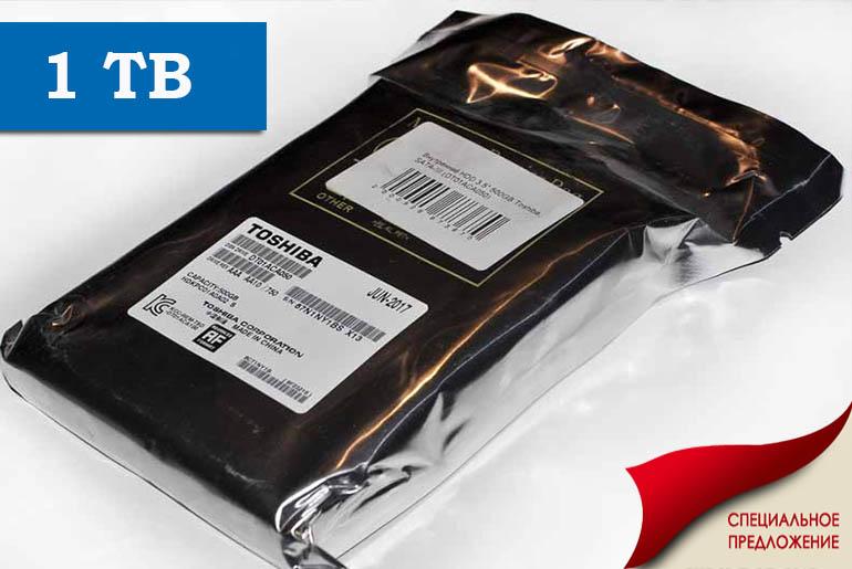 Жесткий диск для ПК 1TB Toshiba hdd