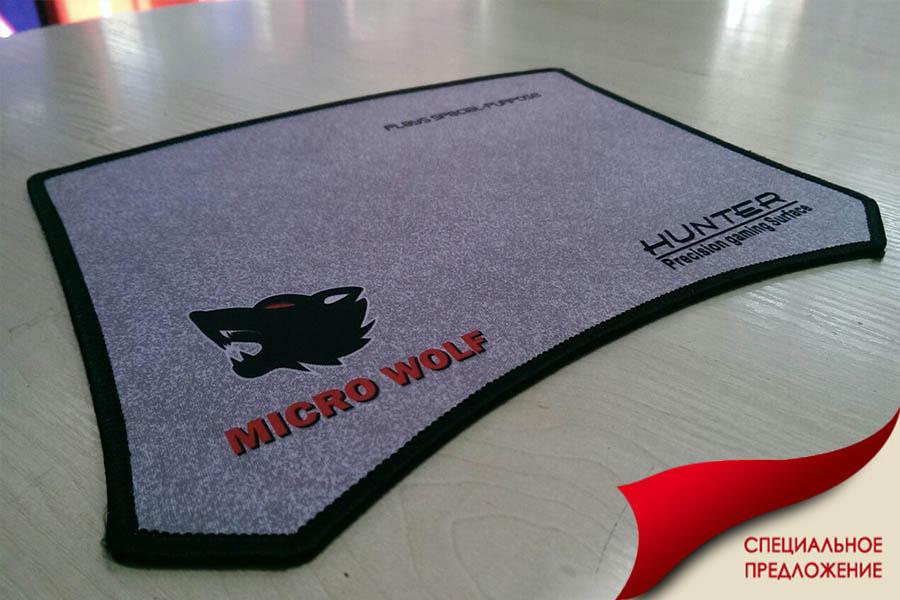 Игровой коврик Micro wolf