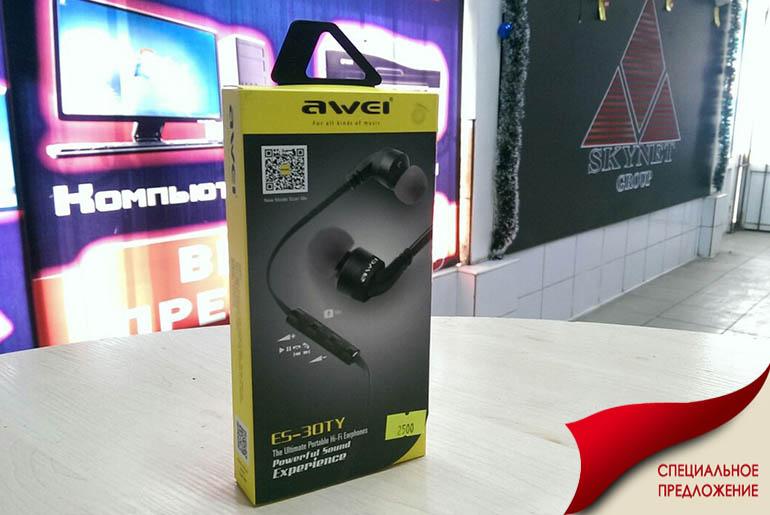 Наушники для сотовых Awei ES 30TY