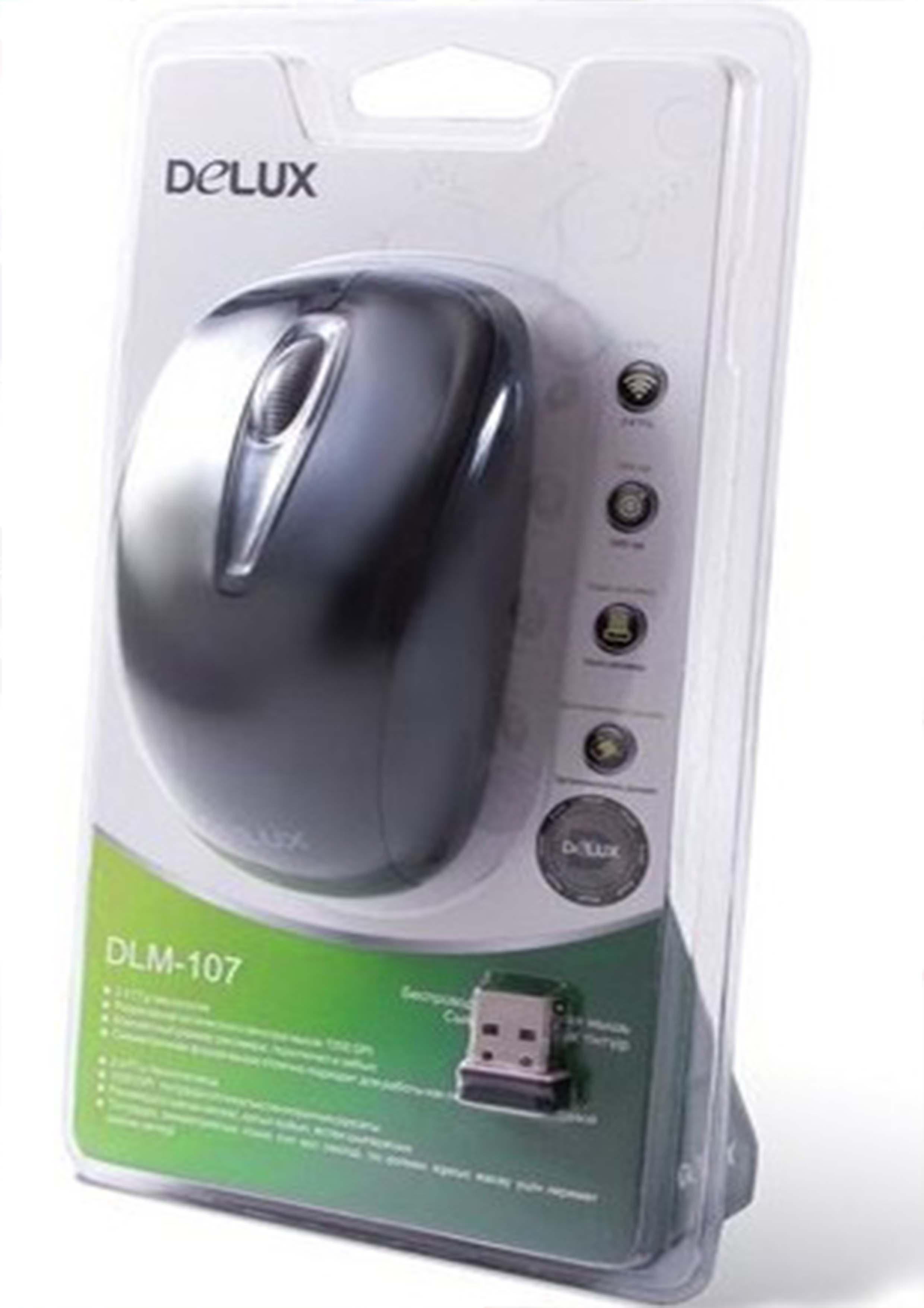 беспроводная мышка Delux DLM-107